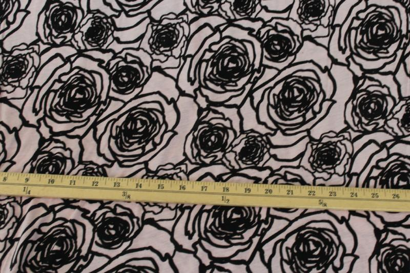 End of BOlt: 5 yards of  The Rose of Versailles Rayon Spandex Jersey Knit