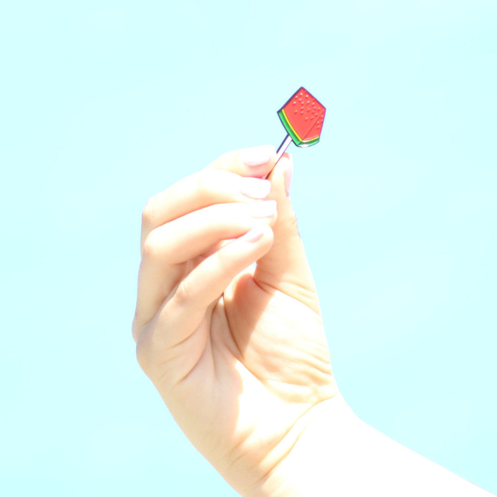 Lapel Pin Paleta Pop
