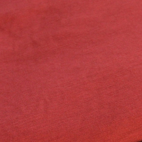Famous Maker Burnt Orange Soft Viscose Spandex Jersey Knit
