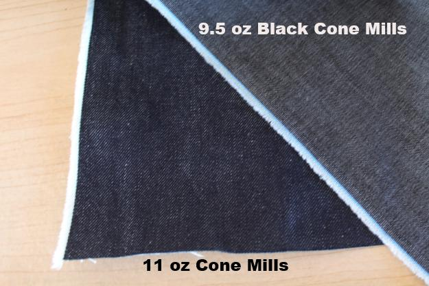 End of BOlt: 2.5 yards of S-Gene Cone Mills Stretch Tencel Blend Denim Light Wash Black