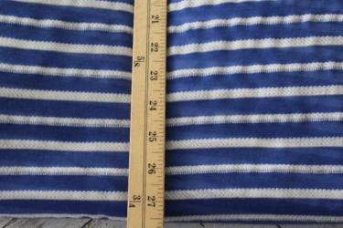 Designer Light Blue Stripe Knit