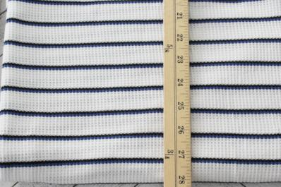 Famous Maker Thermal Stripe Knit