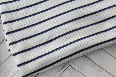 End of BOlt: 3.5 yards of Famous Maker Thermal Stripe Knit