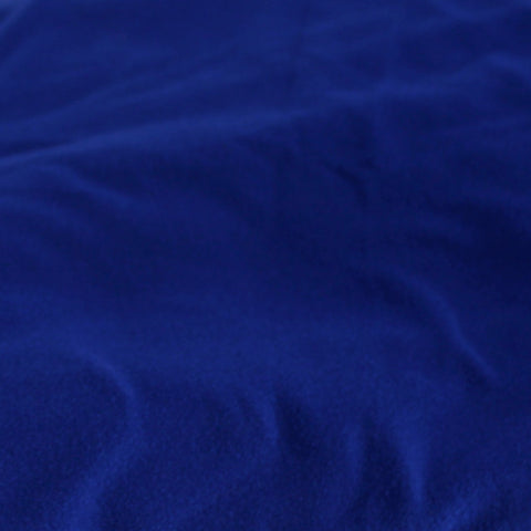 Double Brushed Poly Spandex Royal Blue Solid LA Finch