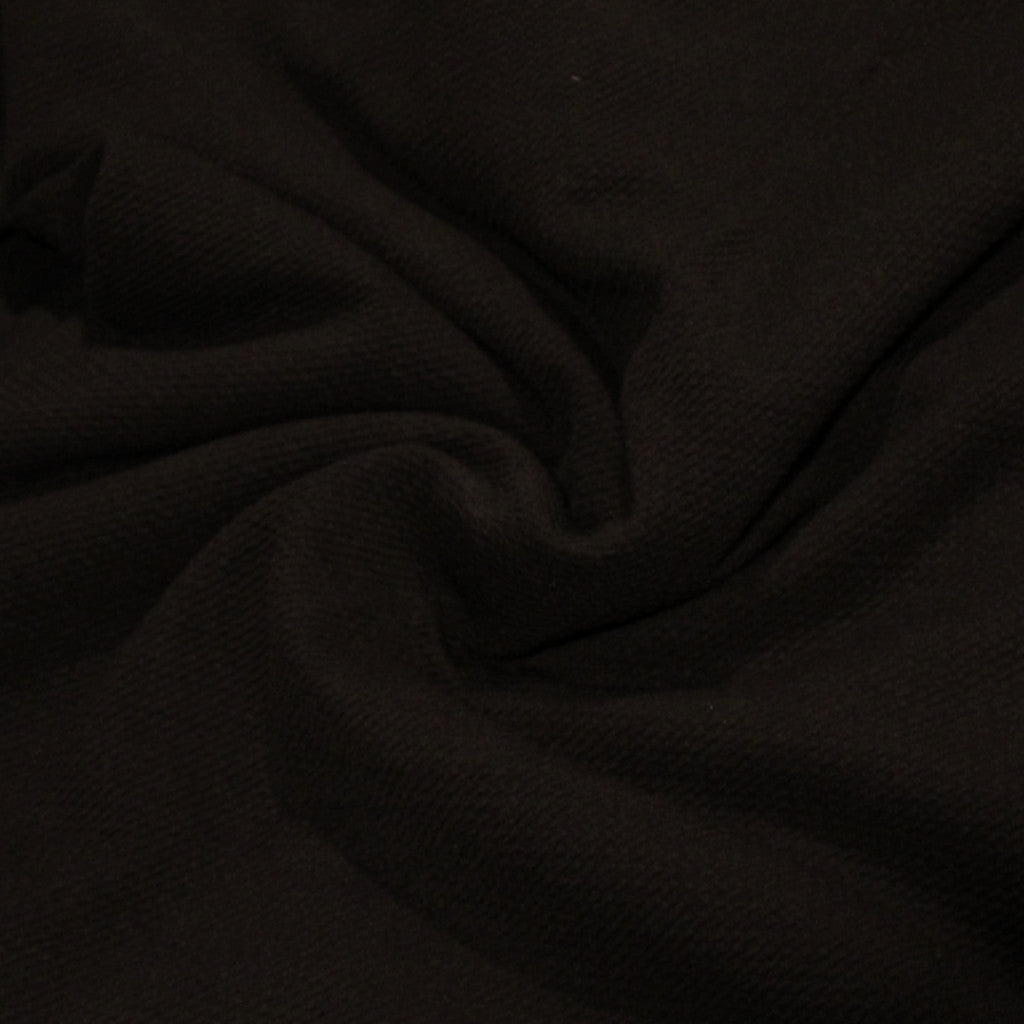 End of BOlt: 3 yards of Fashion Black Liverpool Solid Knit- Remnant