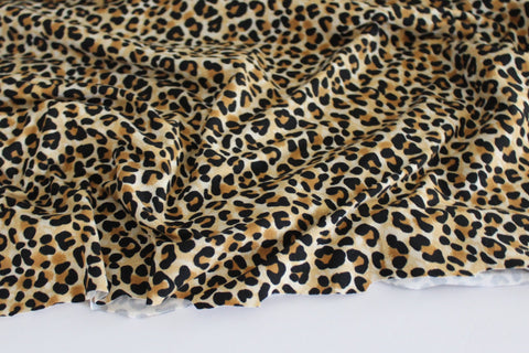 Double Brushed Animal Print Knit