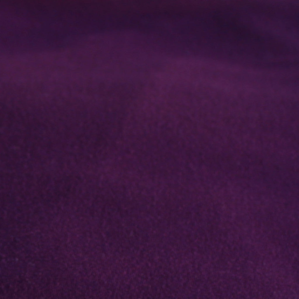 Double Brushed Poly Spandex Eggplant Solid