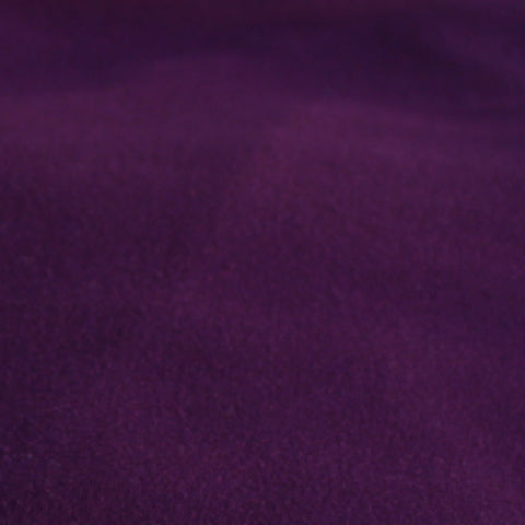 End of Bolt: 4 yards of Double Brushed Poly Spandex Eggplant Solid