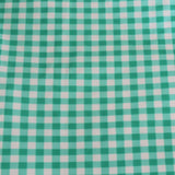Gingham Nylon Spandex Knit