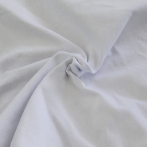 White Cotton Spandex 14 oz Solid Knit