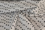 Swiss Dot White Cotton Woven