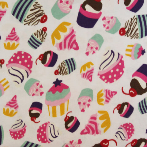 Cotton Spandex Cupcake Party Jersey Knit