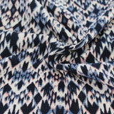 Famous Maker Ikat Blue Thermal Knit