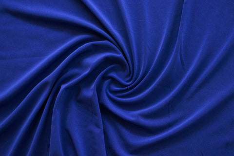 ITY Jersey Knit by the yard. Royal Blue. LA Finch Apparel Fabrics for garment makers