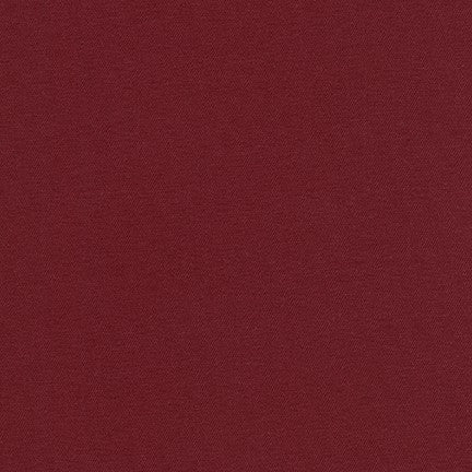 Stretch Jetsetter Twill Fabric Burgundy