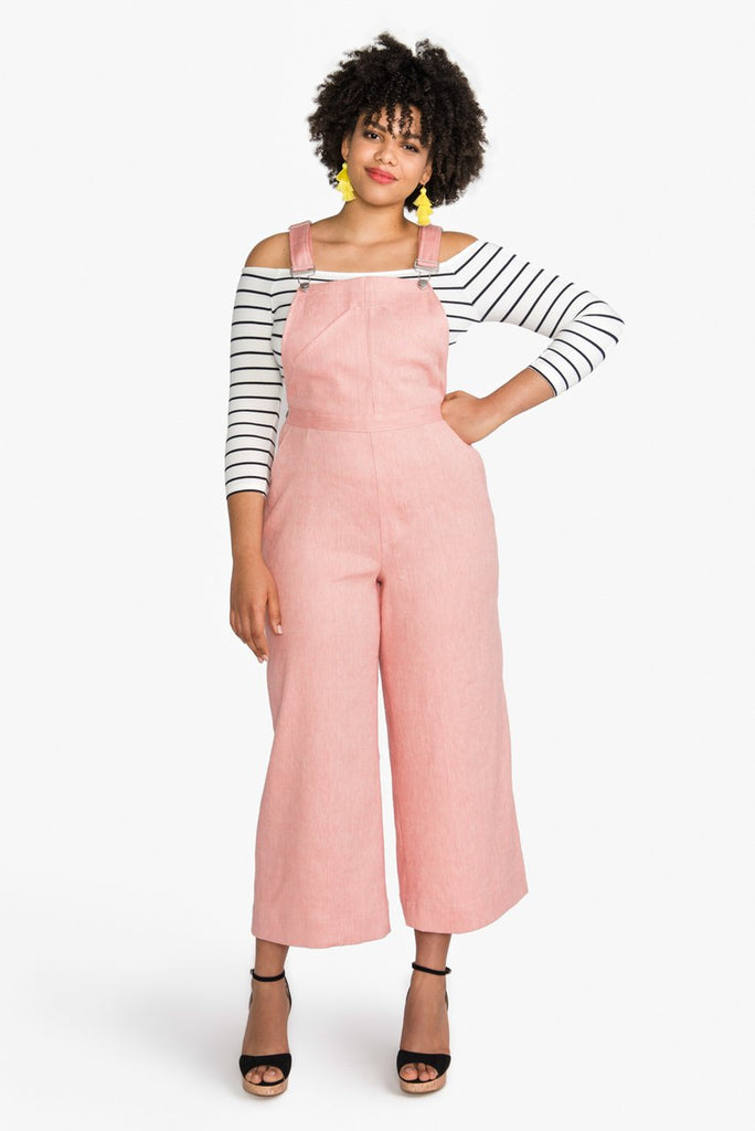 Pattern for Garment Making: Jenny Overalls & Trousers by Closet Core Patterns