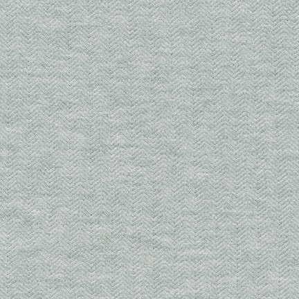 End of BOlt: 2-1/4th yards of  Kaufman Herringbone Gray Cotton Blend Jersey Knit- remnant