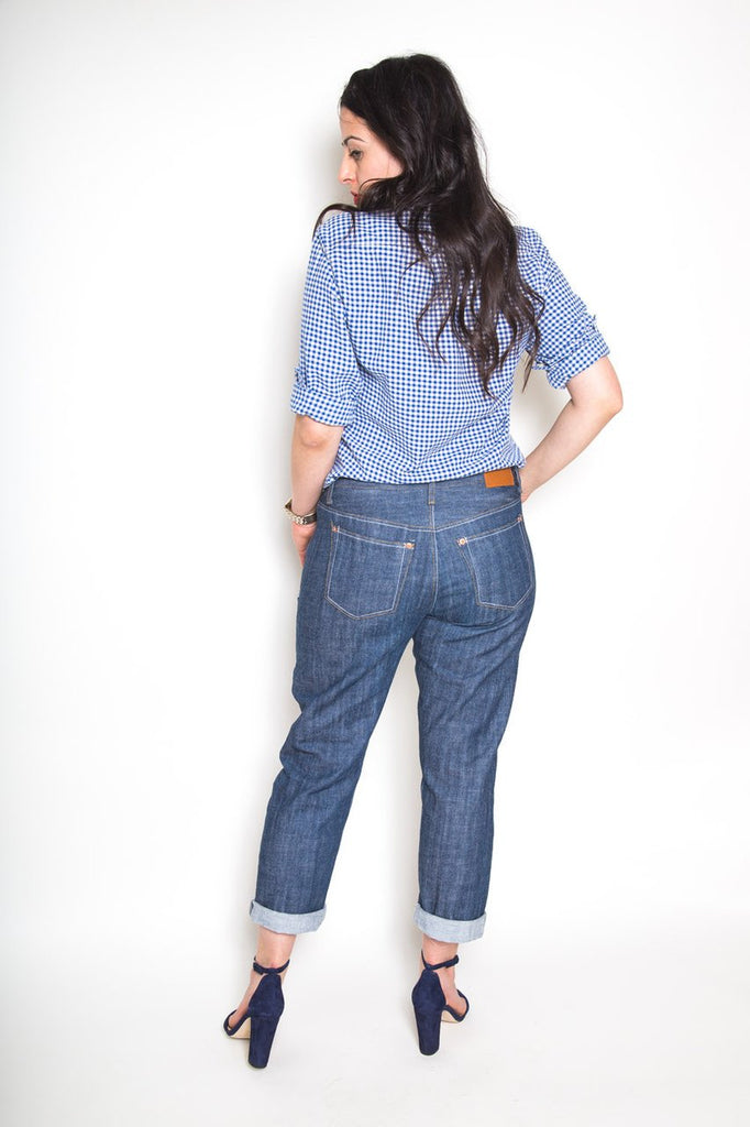 Pattern for Garment Making: Morgan Jeans by Closet Core Patterns