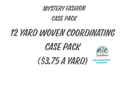 12 Yard Mystery Pack of Wovens-Larger Cuts