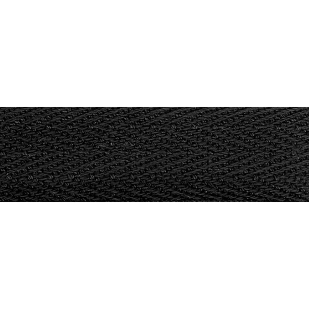 "Notion: Black 1/2"" Cotton Twill Tape- 55 yards"