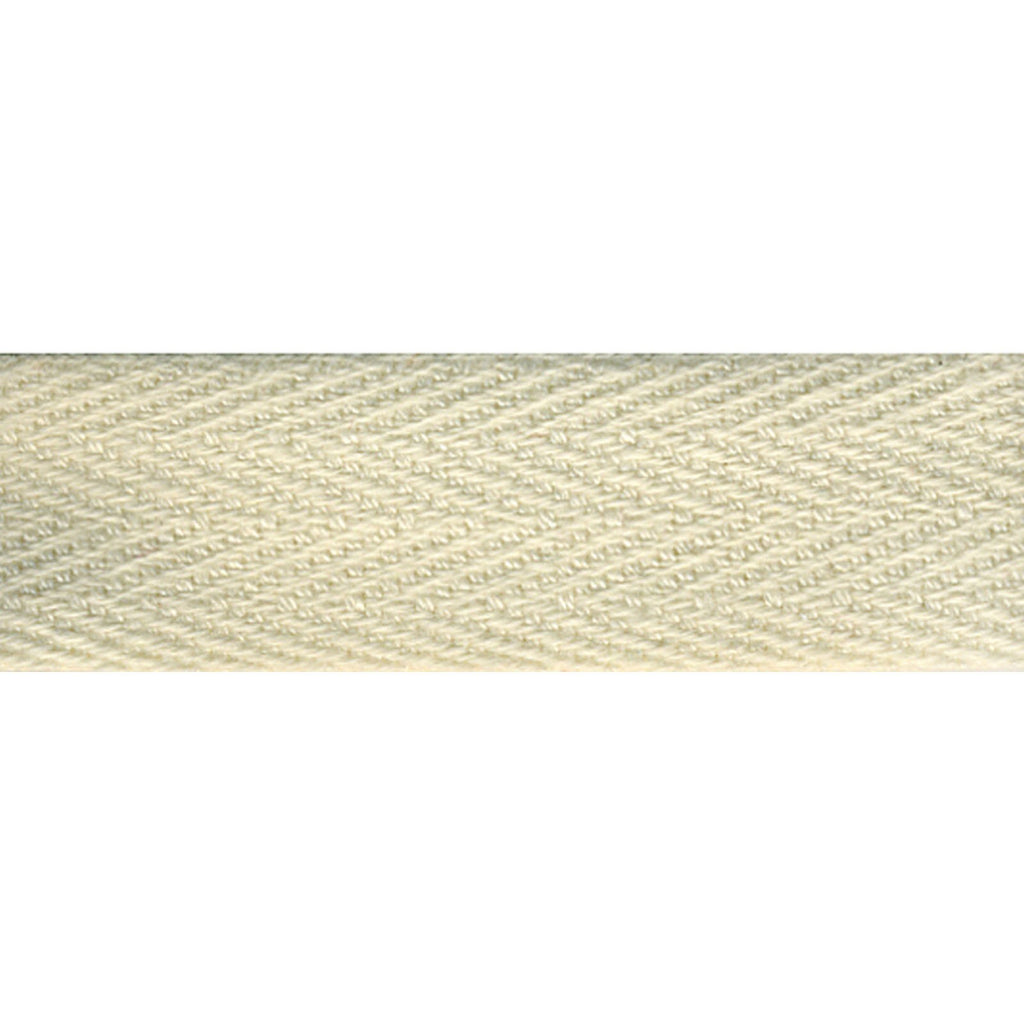 "Notion: Cream 1/2"" Cotton Twill Tape- 55 yards"