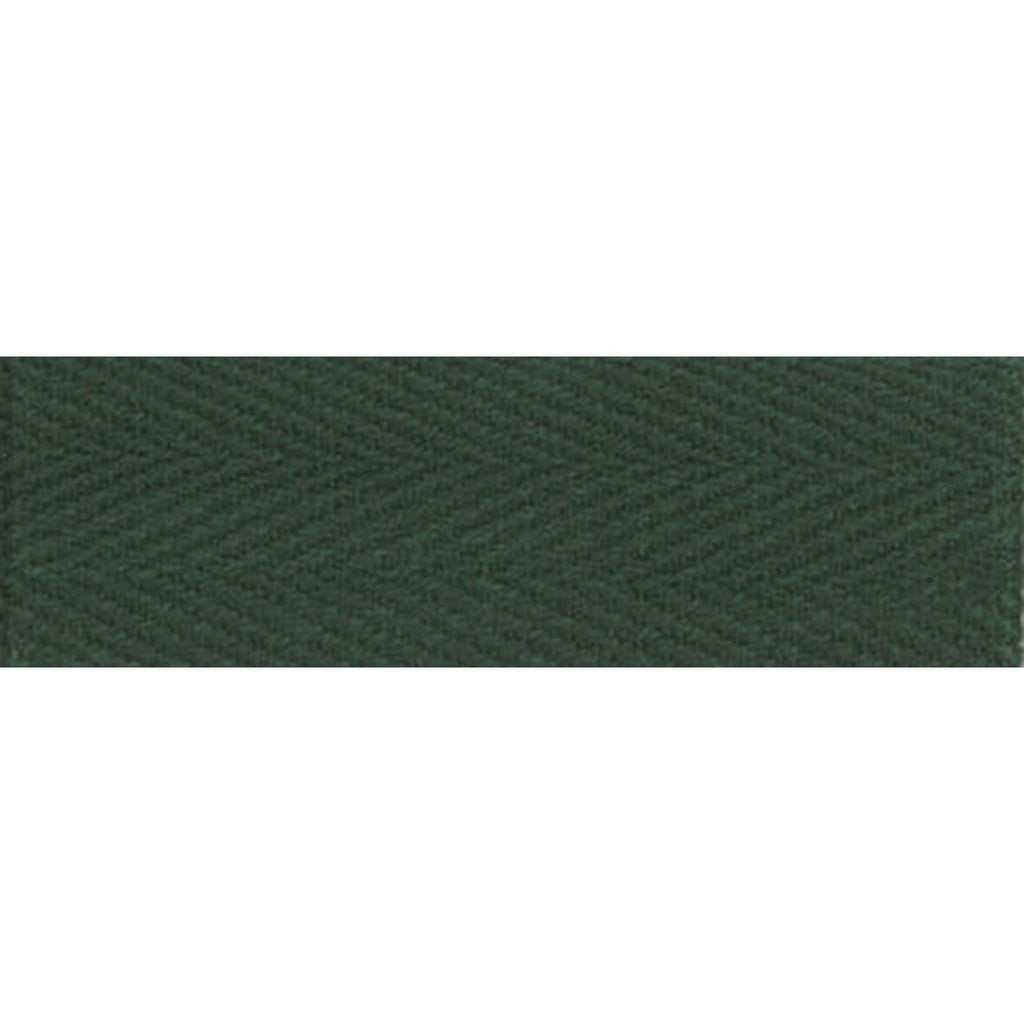"Notion: Hunter Green 1/2"" Cotton Twill Tape- 55 yards"