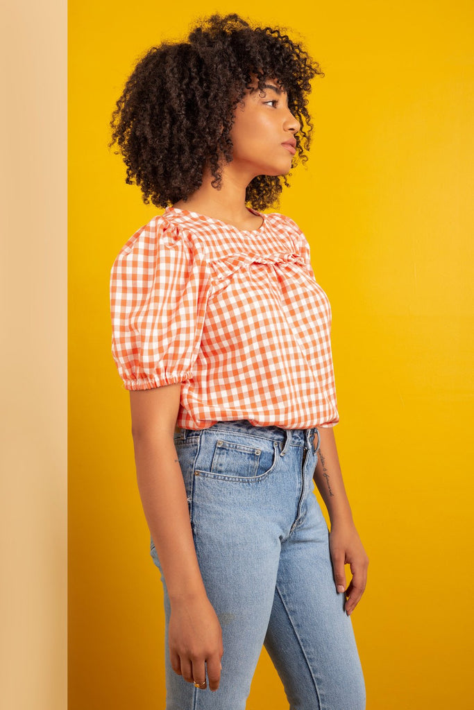 Garment Making Patterns: The Sagebrush Top by Friday Pattern Co.
