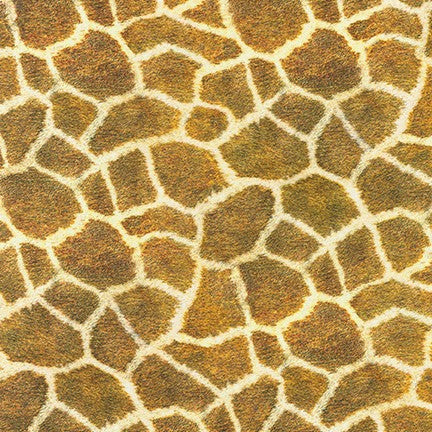 Animal Kingdom Giraffe Cotton Lawn- By the yard
