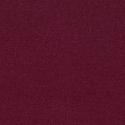End of Bolt: 1-5/8th yards of Arietta Ponte De Roma Burgundy Solid
