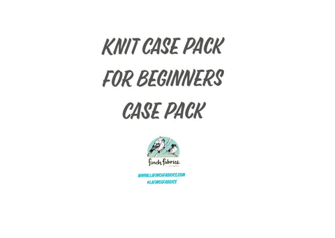 Knit Case Pack For Beginners- 12 yard case Pack