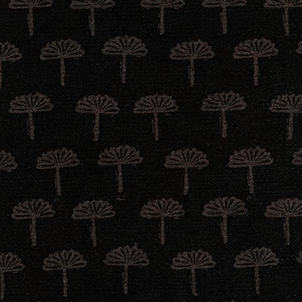 End of BOlt: 2-5/8th yards of Kaufman Blueberry Park Park Foliage Ebony Woven
