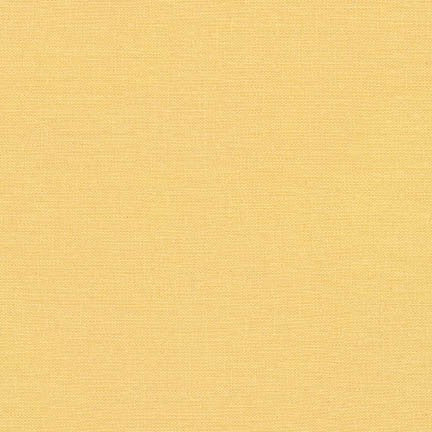 End of Bolt: 1-3/4th yards of Brussels Washer Rayon Linen Buttercup Hue 6 oz-remnant
