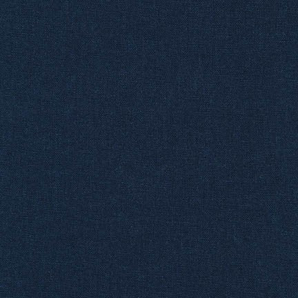 Brussels Washer Rayon Linen Navy Hue 6 oz-By the Yard