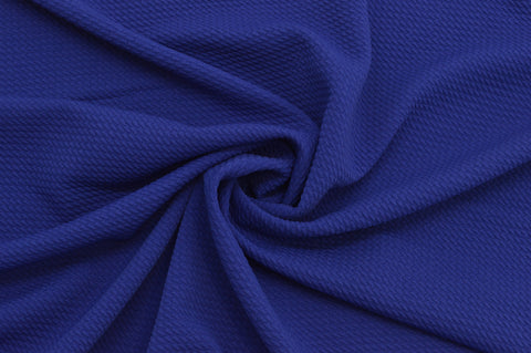 Paola Textured Royal Blue Bullet Liverpool Knit