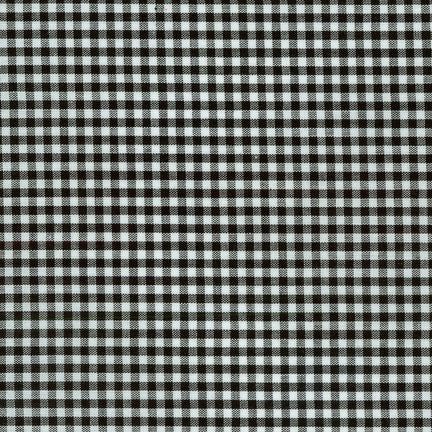 Carolina Classic Black Gingham Cotton Woven