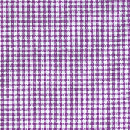 Carolina Purple Gingham Cotton Woven