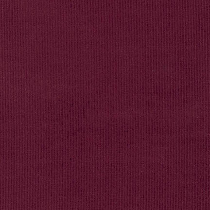 End of Bolt: 2-7/8th yards of 14 Wale Cotton Corduroy Merlot