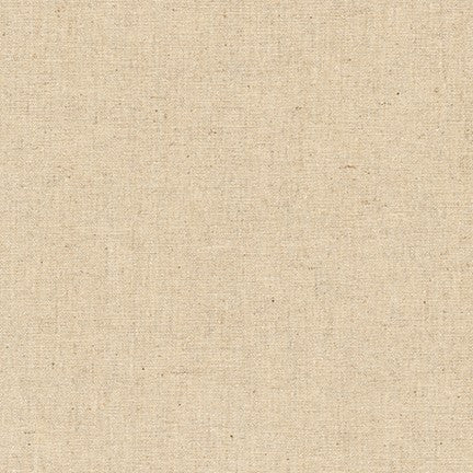 Essex Natural Cotton Linen Blend Woven