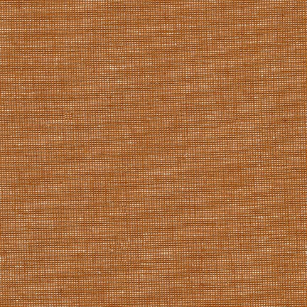 Roasted Pecan Essex Yarn Dyed Homespun Cotton Linen Woven 5.6 oz- by the yard