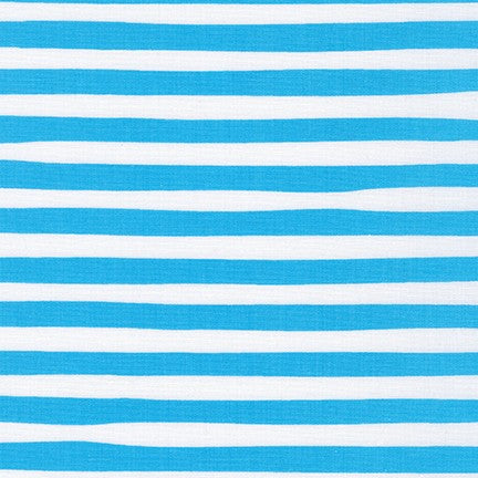 Kaufman Magical Rainbow Collection Blue Stripe Woven- By the Yard