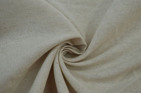 Designer Rayon Linen Blend Solid Natural Woven