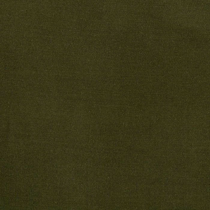 Olive Rayon Challis Solid