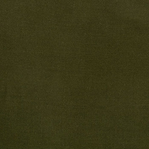 End of Bolt : 2-3/4th yards of Olive Rayon Challis Solid