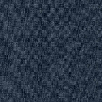 Tencel Cotton Chambray Woven. Robert Kaufman Fabrics. Fashion Apparel Fabrics. LA Finch