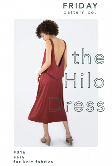 Garment Making Patterns: The Hilo Dress by Friday Pattern Co.