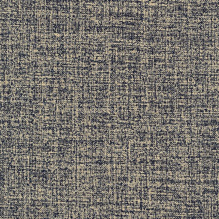 Kaufman Sevenberry Nara Homespun Static In Indigo Cotton Woven 5.37 oz- By the yard