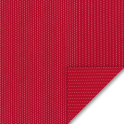 End of BOlt :4-1/8th yards of Stitched Lake Red Kaufman Woven