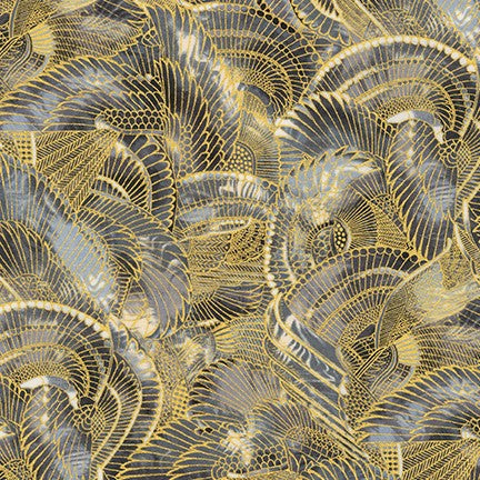 Kaufman Treasures of Alexandria Egyptian Wings 100% Cotton Woven- By the yard