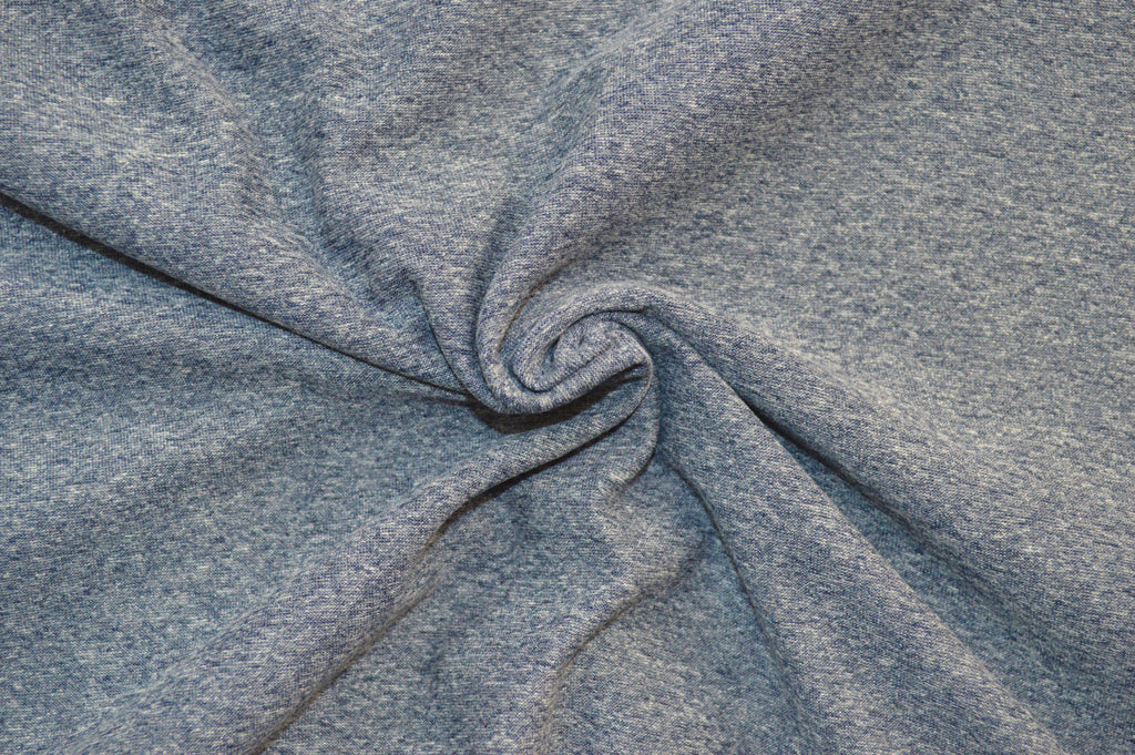 LA Finch Fabrics. Double brushed poly. two tone knit. #1 brushed poly knits