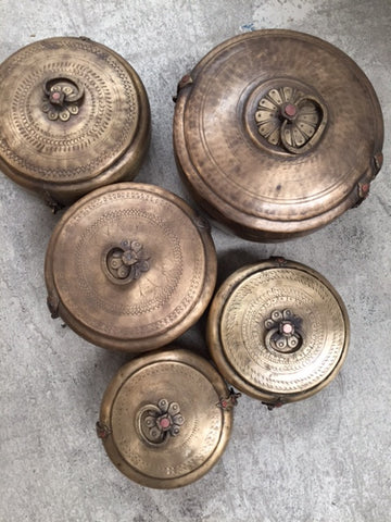 Chapati Brass Box